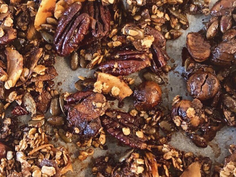 granola sans gluten cétogène