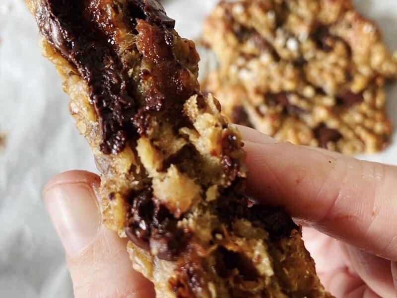 cookies sans gluten vegan
